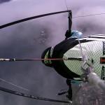 Wing Over über dem Genfer See
